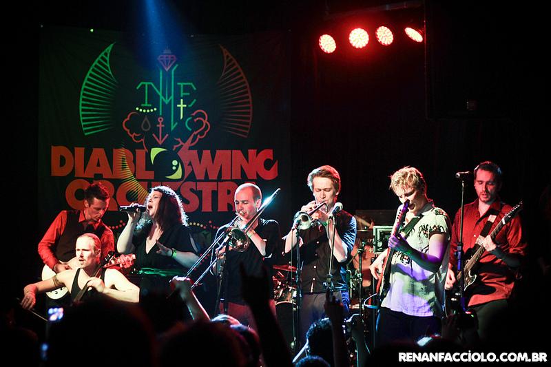 Diablo Swing Orchestra @ Inferno Club (São Paulo / Brasil) - 05/2012