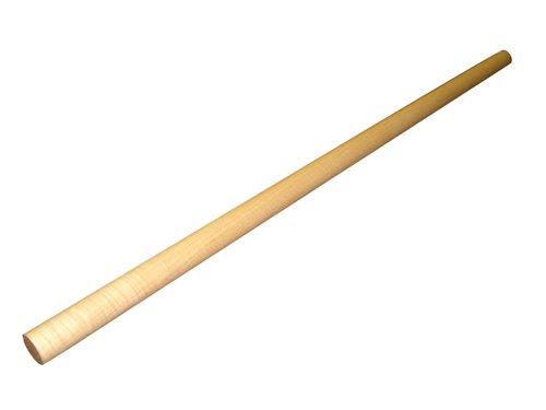そば打ち めん棒 楓 鉄補強材入り 90.0cm×φ2.9 楽器メーカー開発!反りにくい、割れにくい、狂いにくい麺棒!!
