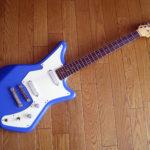 Fujigen PP – 質実剛健な日本製ビザールギター「ふじこ」