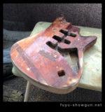 マニアック過ぎるギター魔改造「ニセ・バートリー製作記」其の壱・ボディ加工