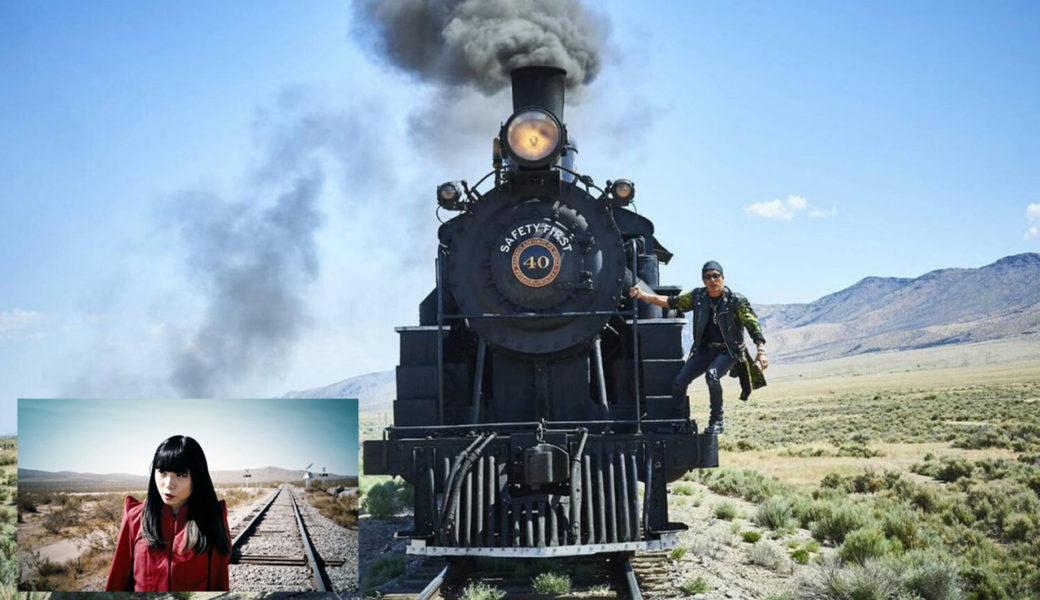少女の背後から機関車に乗ったランボーが迫りくる「アユニ、逃げてぇー!」