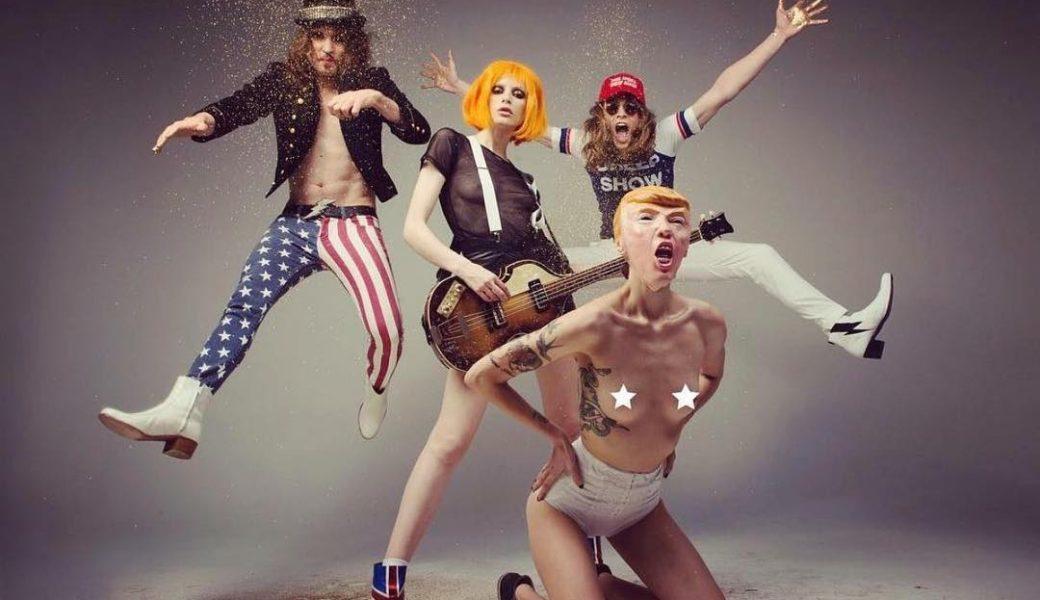 美女すぎるベーシスト、シャーロット・ケンプ・ミュールの新バンド「Uni」